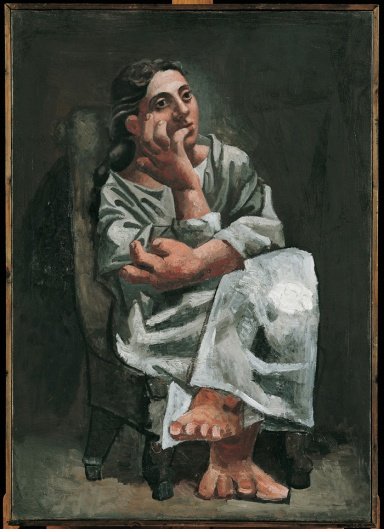 Pablo Picasso, Femme assise,1920