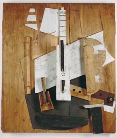 Pablo Picasso, Guitare et bouteille de Bass, 1913 - PICASSO MILANO PALAZZO REALE