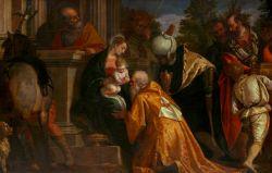 Paolo Veronese e bottega, Adorazione dei Magi, 1585 ca., Olio su tela