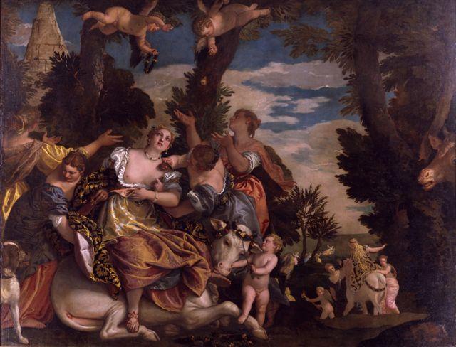 Paolo Veronese, Ratto d'Europa, 1580 ca