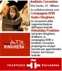 teatro Ringhiera di Milano compagnia ATIR - Instituto Cervantes