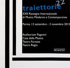 TRAIETTORIE 2012 Musica Moderna e Contemporanea