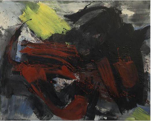 Lorenzelli Arte, Gérard Schneider, Opus 53 G 1965