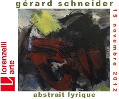 Lorenzelli Arte Milano, Gérard Schneider