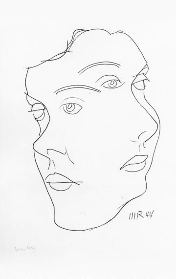 Man Ray, Fondazione Marconi Arte moderna e contemporanea MILANO, Maschera1944