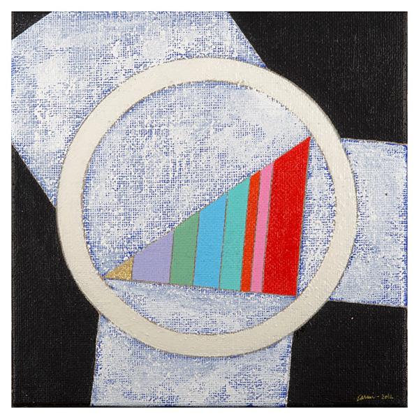 Orenda Art International, Eugenio Carmi, 2012 30x30 Pitagora docet