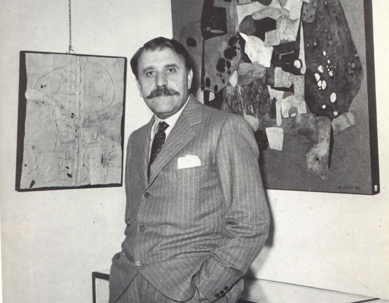 Quotazioni arte contemporanea - Carlo Cardazzo nella sua Galleria
