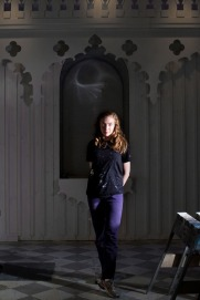 Rachel Feinstein portrait December 2010 Courtesy Gagosian Gallery Photo by Jesse David Harris