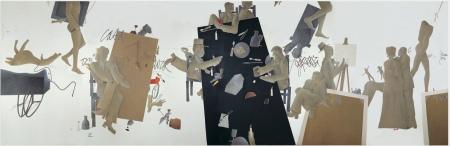 Spazio Tadini, L'occhio della pittura di Emilio Tadini