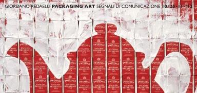 SPAZIO ZERO presenta PACKAGING ART segnali di comunicazione in mostra dal 10 al 25 novembre 2012