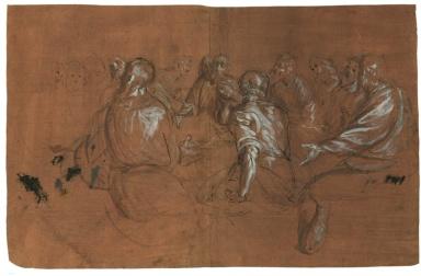 Castello Sforzesco Milano mostra - Giovanni Battista Crespi, detto il Cerano - Ultima cena