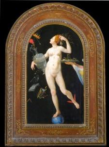 GALLERIA DEGLI UFFIZI Firenze L'ALCHIMIA E LE ARTI, Jacopo Ligozzi, Allegoria della fortuna