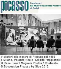 mostra di Picasso Milano Palazzo Reale
