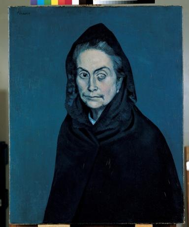 Pablo Picasso, La Célestine - La Femme à la Taie, mostra Picasso Milano