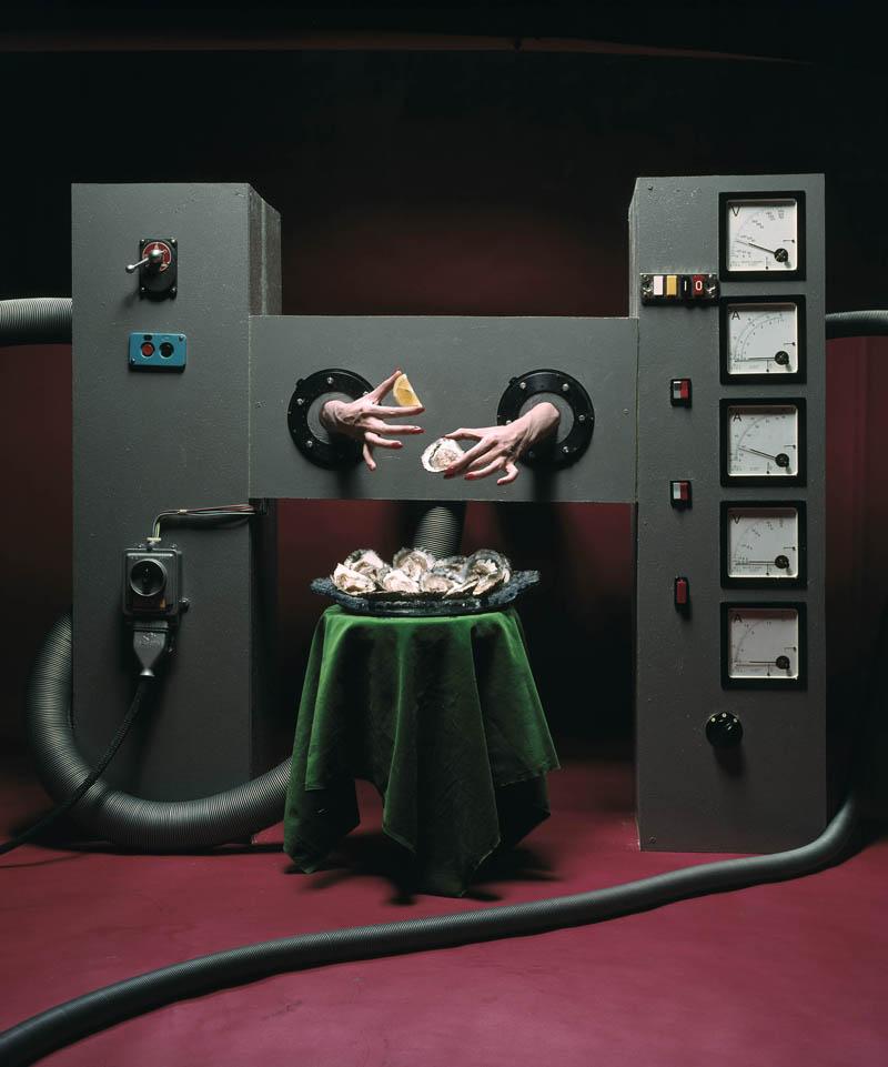 Alfa Castaldi, La machine a manger les huitres, Milano, 1972 ca, Galleria Carla Sozzani