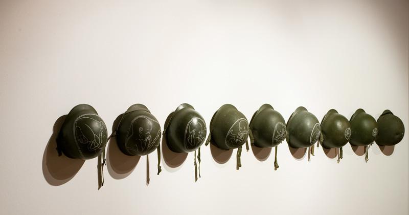 FABBRICA DEL VAPORE Milano STEP09 fiera arte contemporanea Rocco Dubbini_Gloria