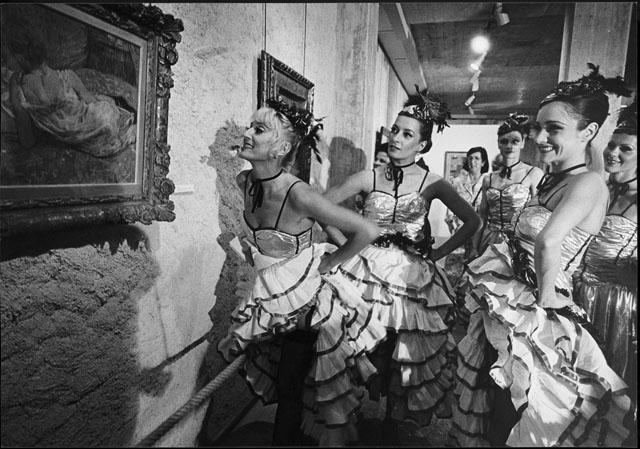 Marcel Imsand, Vernissage de l'exposition Toulouse-Lautrec à la Fondation Pierre Gianadda, Martigny, 16 mai 1987 © Marce