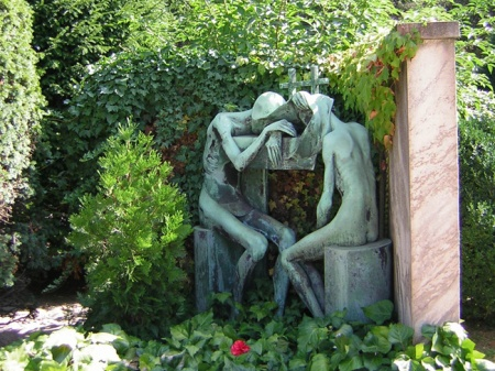 Milano arte, Adolfo Wildt, Cimitero Monumentale