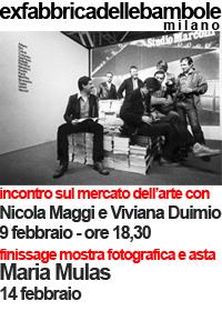 Nicola Maggi e Viviana Duimio a EXFABBRICADELLEBAMBOLE Milano