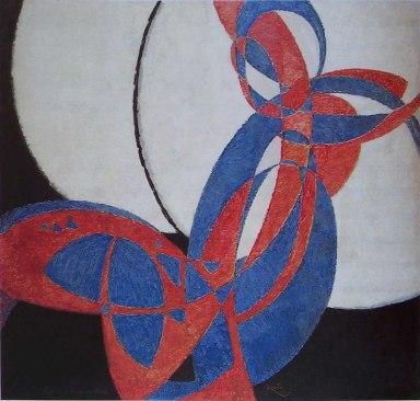 František Kupka al Palazzo Salm - Galleria Nazionale di Praga, Amorpha Fuge à deux couleurs, 1912