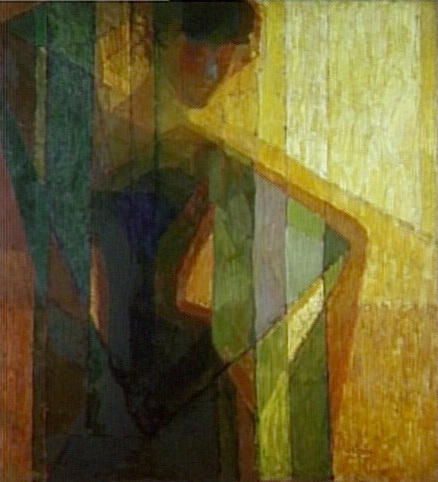 František Kupka al Palazzo Salm - Galleria Nazionale di Praga, Plans par couleurs (Femme dans les triangles), 1910-11