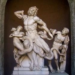 Laocoonte, degli scultori Agesandro, Atanodoro e Polidoro
