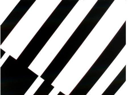 Lorenzelli Arte BLACK & WHITE, Günter Fruhtrunk, Lapidar Et.1, 1974