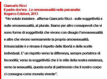 Giancarlo Ricci, Il padre dov'era