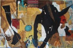 Isa Locatelli - opere in mostra a Spazio Tadini, Milano