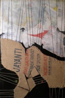 KOINÈ 2013, mostre arte contemporanea, Marco Pedroni, JAYANTI_100X140