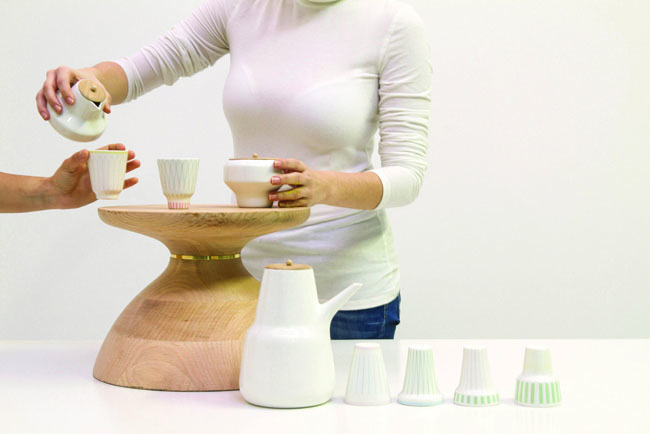 MADtastic! Fresh Design From Madrid, Chai set by Nikita Bhate for IED Madrid