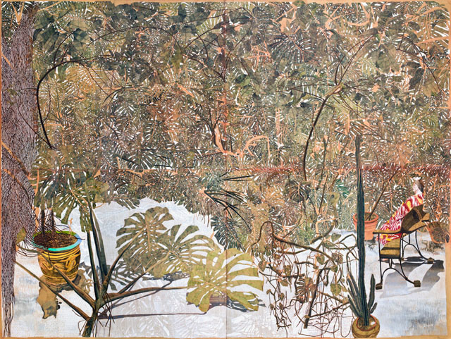 SAM SZAFRAN 50 anni di pittura, Fondation Pierre Gianadda di Martigny, Hommage à Jean Clair pour son exposition Cosmos, 2012