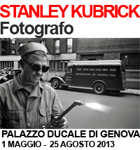Stanley Kubrick fotografo, Palazzo Ducale Genova mostra
