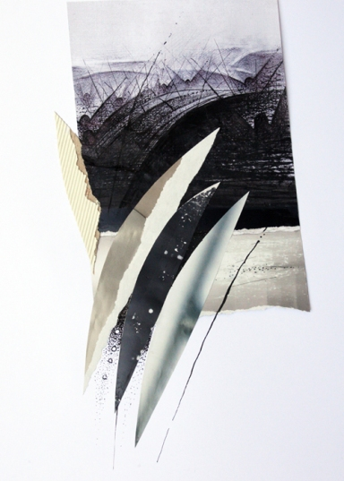 Ernesto Terlizzi, Galleria del Carbone - La danza cm 25x35 tecnica mista su carta
