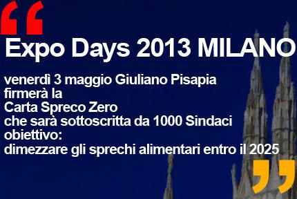 Expo Days 2013 Giuliano Pisapia