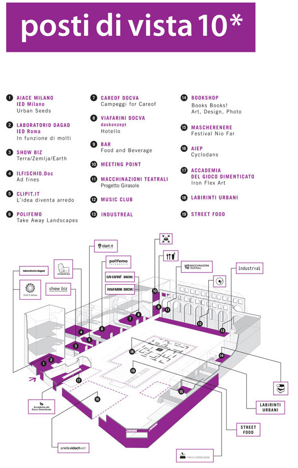 fuorisalone 2013 mappa fabbrica del vapore