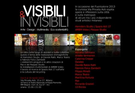 Fuorisalone 2013 Salone del Mobile - Hamsters Studio, Spazio Asti 17, AMBM Video, Paopao Studio