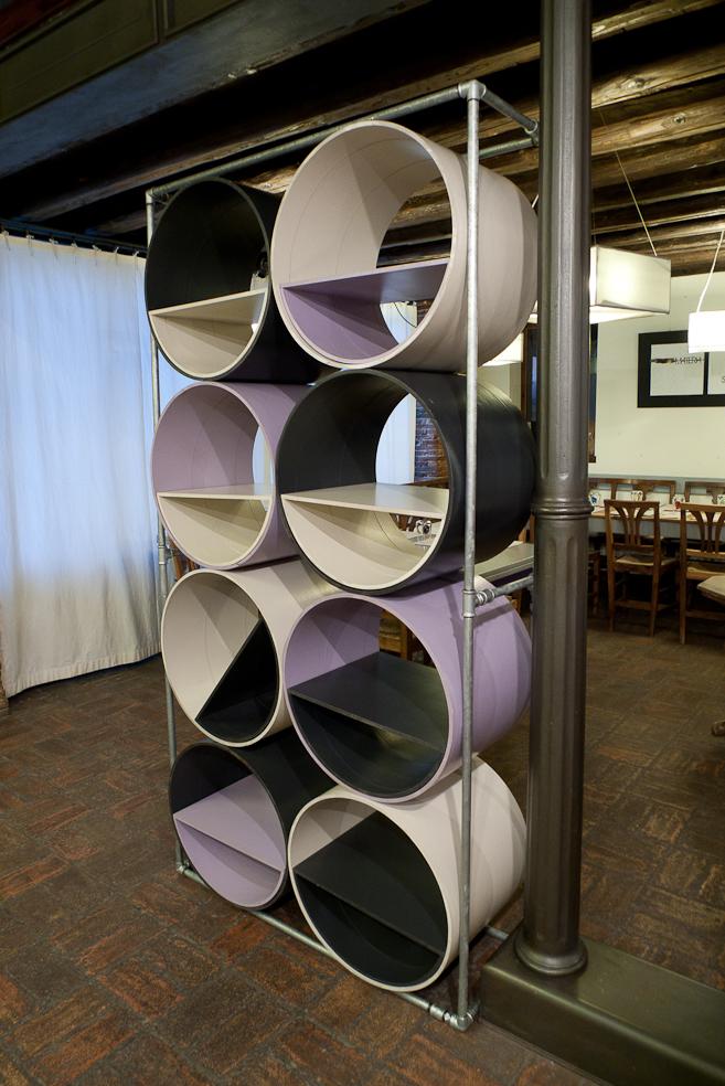 Fuorisalone 2013 Ventura Lambrate - Capolinea Design LIBRA, libreria