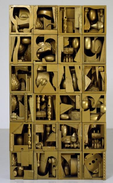 LOUISE NEVELSON Roma, mostra Museo Fondazione Roma Palazzo Sciarra - Fondazione Marconi
