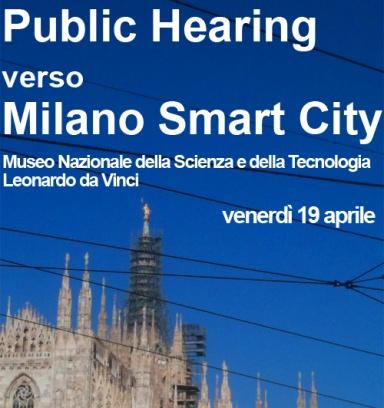 Public Hearing verso Milano Smart City
