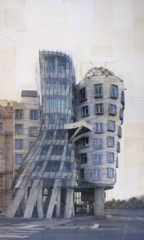 Costantini Art Gallery - Nicolò Quirico - Praga - Ginger e Fred, cm 150x90