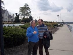 Luigi Fontanella e Paolo Lagazzi a Long Island