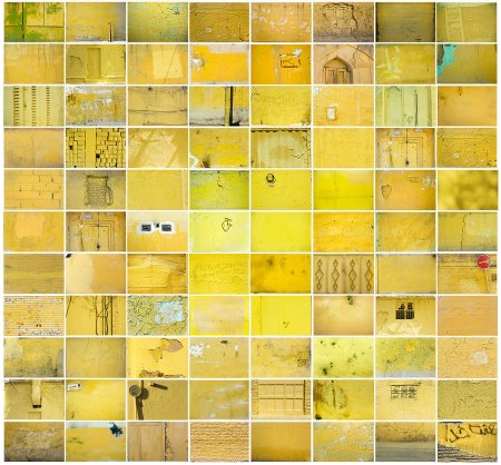 Maziar Mokhtari - PALIMPSEST, 88 pezzi fotografici, stampa lambda su alluminio, 115cm x 123,5cm