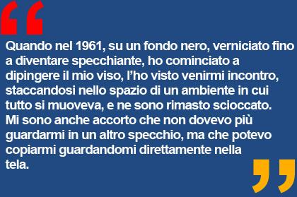 mostre Milano - Michelangelo Pistoletto - Studio Guastalla arte contemporanea