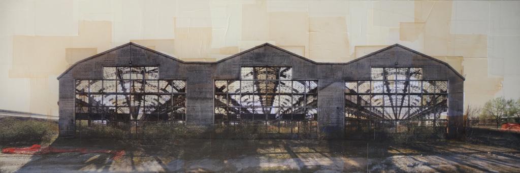 Nicolò Quirico - Milano - Stabilimenti Innocenti, cm 60x180