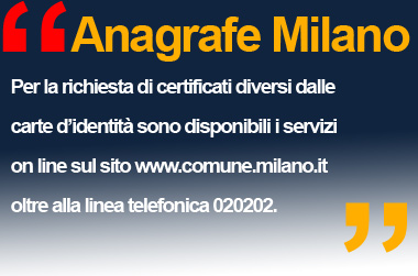 Anagrafe MILANO via Larga 12