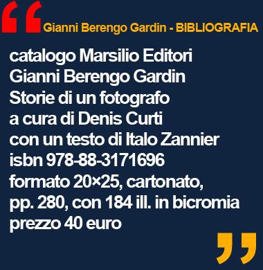 GIANNI BERENGO GARDIN mostra Palazzo Reale Milano