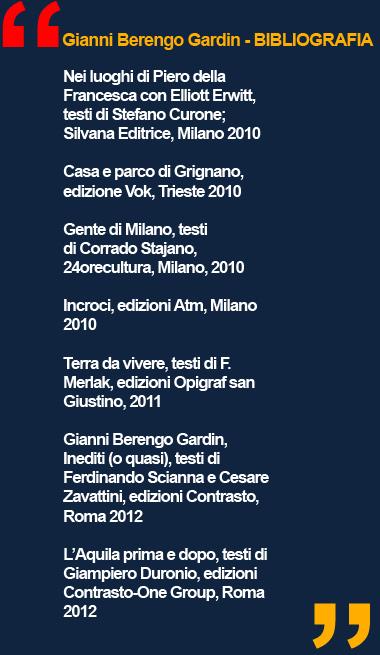 Mostra GIANNI BERENGO GARDIN Storie di un fotografo - Palazzo Reale Milano