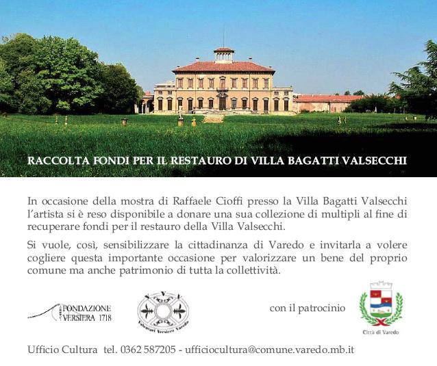 Raffaele Cioffi, Villa Bagatti Valsecchi