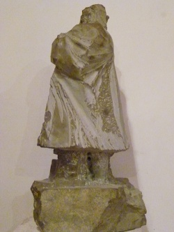 Brufa di Torgiano per SCULTORI A BRUFA LA STRADA DEL VINO E DELL'ARTE - Marco Mariucci - bozzetto scultura L'Uomo di Brufa